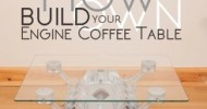 How to Build your own Engine Coffee Table – Book Review