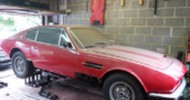 Classic Aston Martin To Tempt Car Restorers At Auction
