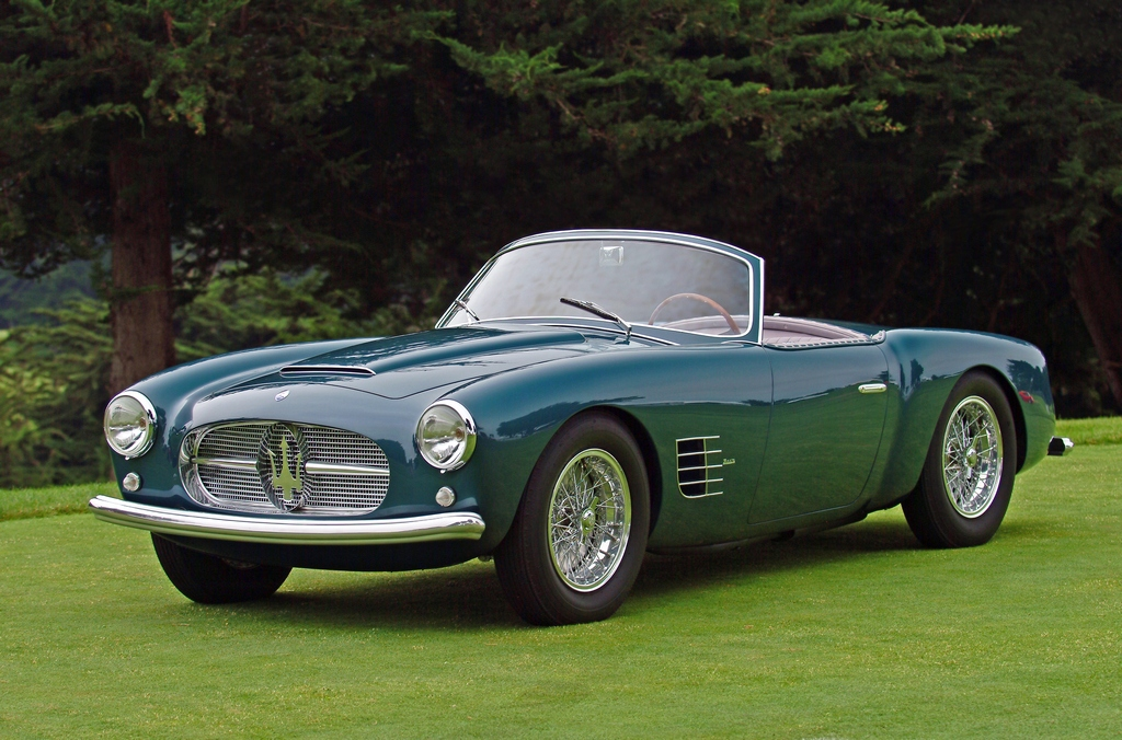 Drive Away 2Day: 1955 Maserati A6G/2000 Spyder : Classic Cars